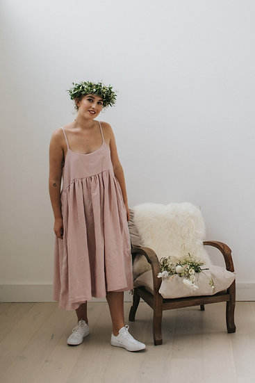 The Cami Dress - Petal