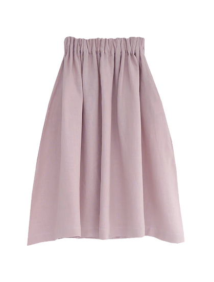 The Midi Skirt - Petal
