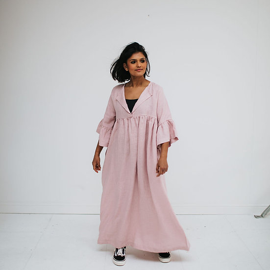 The Flared Maxi Dress - Petal (Ready to Dispatch)