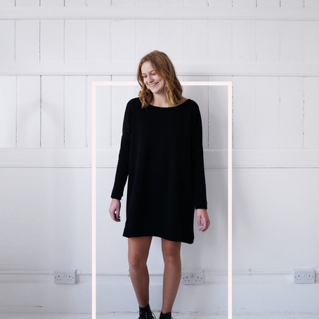 Organic Black Knit- dress it up, dress it down ...