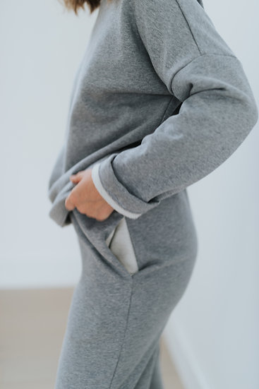 The Sweatpants - Grey Marl