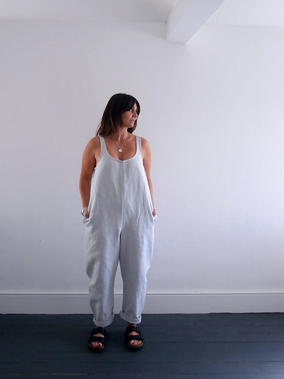 The Cocoon Jumpsuit - Sky