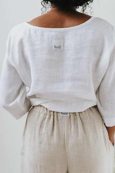 The Wide Trousers - Fawn