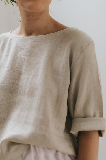 The Simple Blouse - Fawn