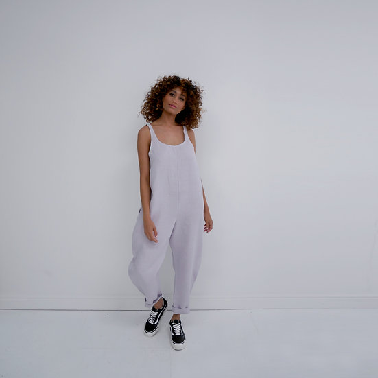 The Cocoon Jumpsuit - Wisteria (Ready to Dispatch)
