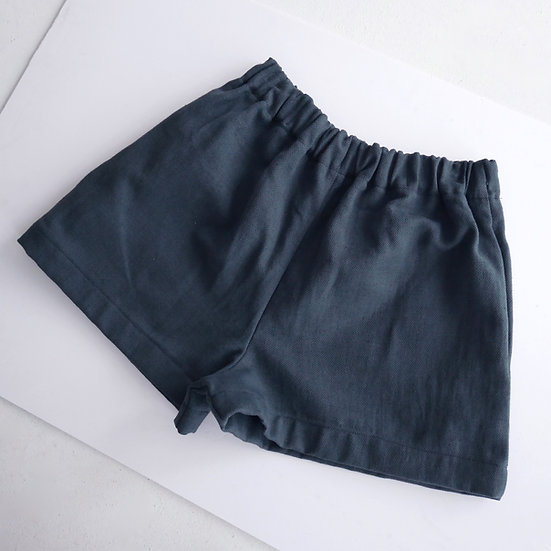 PRE-ORDER The Cocoon Shorts - Blueberry
