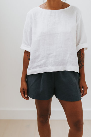 The Simple Blouse - White (Ready to Dispatch)