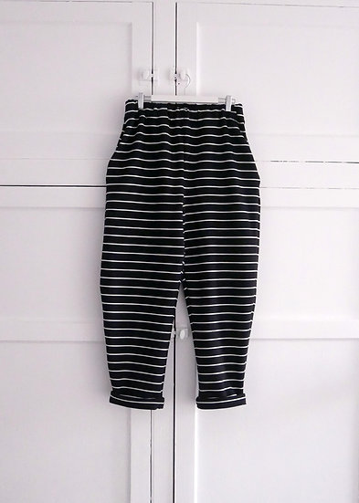 The Sweatpants - Black Stripe