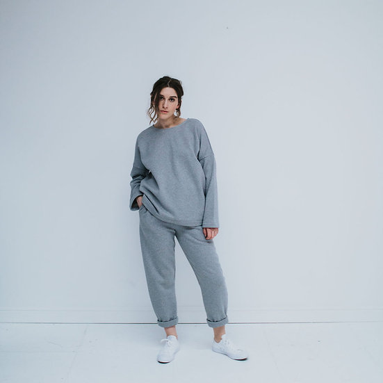 The Sweatpants - Grey Marl (Ready to Dispatch)