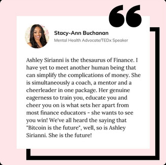 Stacy-Ann Buchanan is a Toronto based mental health advocate, filmmaker, TEDx speaker, podcaster, and actress