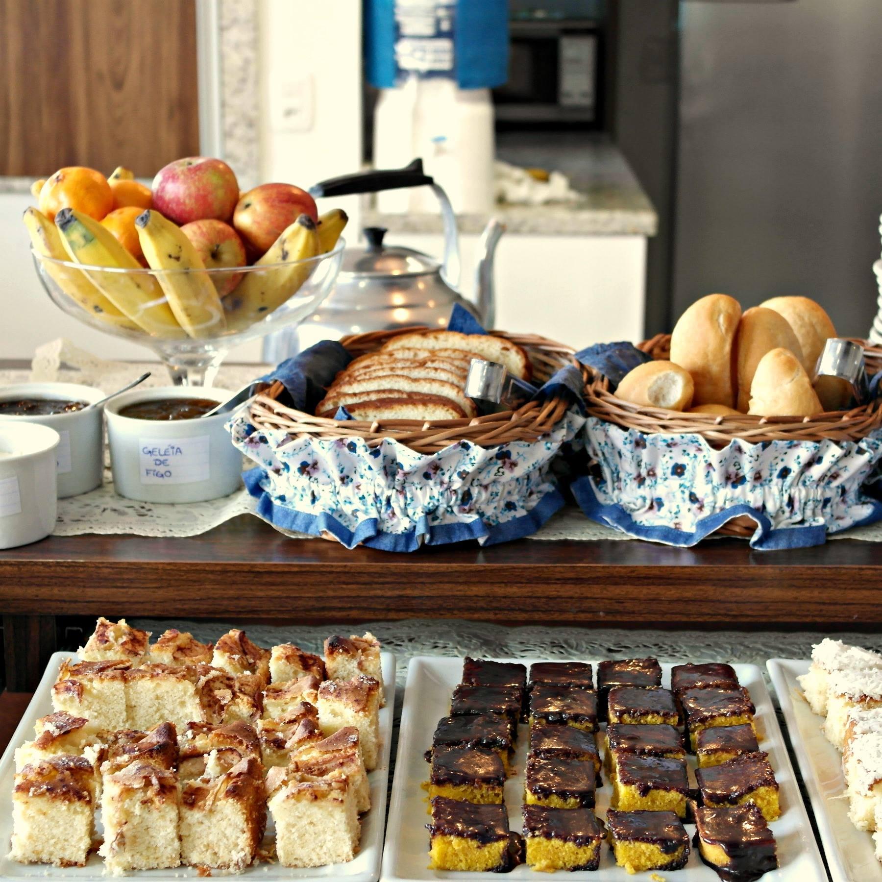 Pousada Lanai - Café da manhã