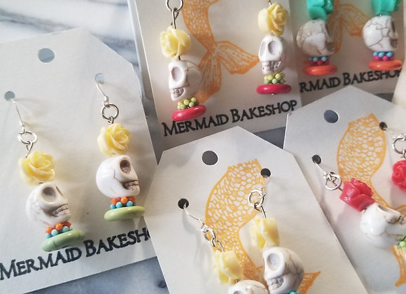 Day of the Dead Homage Earrings