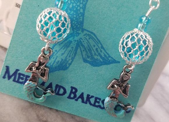 Mermaid Orb Earrings