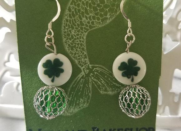 Netted Luck Earrings