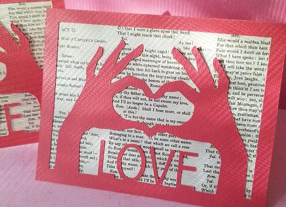 Love Valentine Card