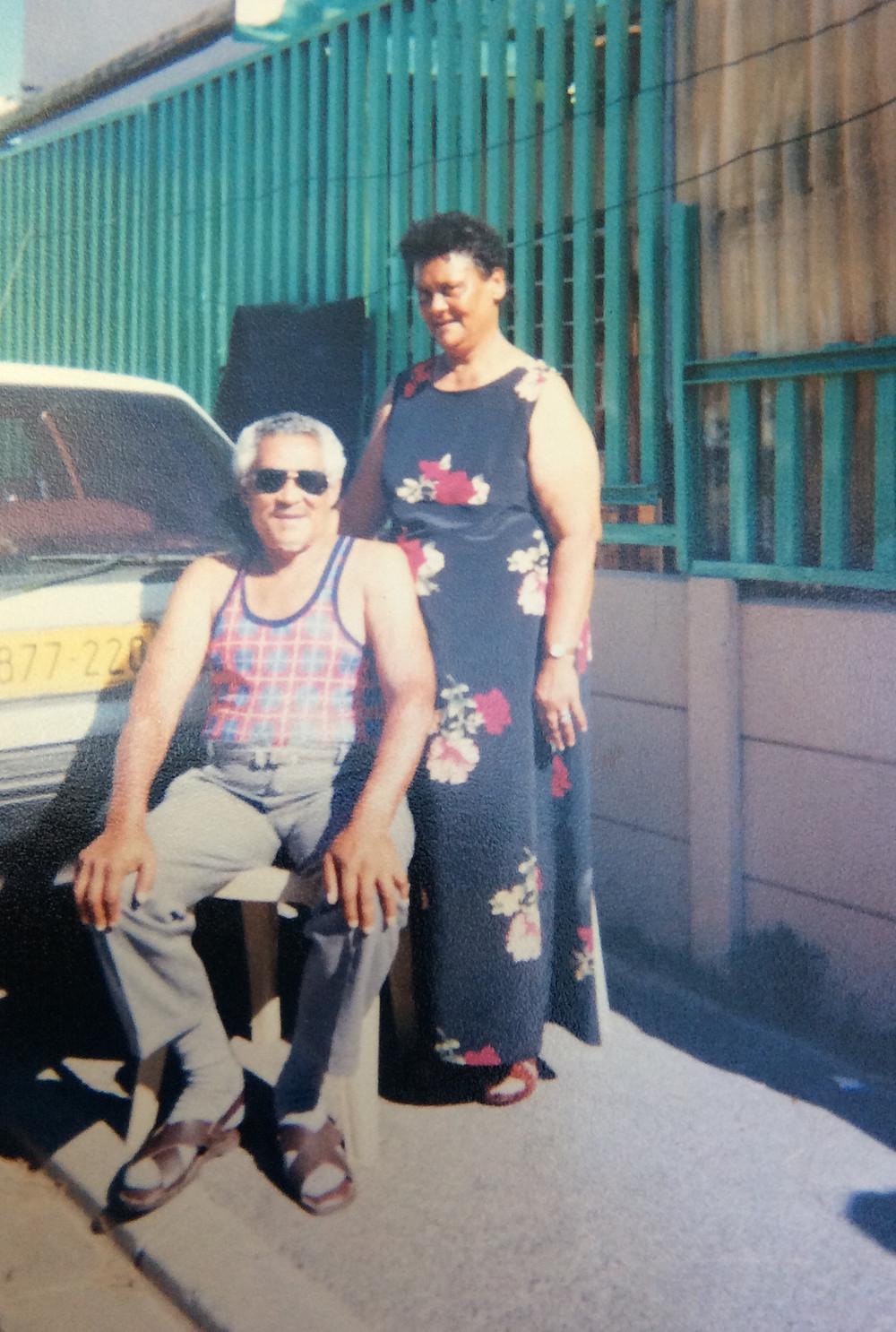 Ralph's parents, Daniel and Martha