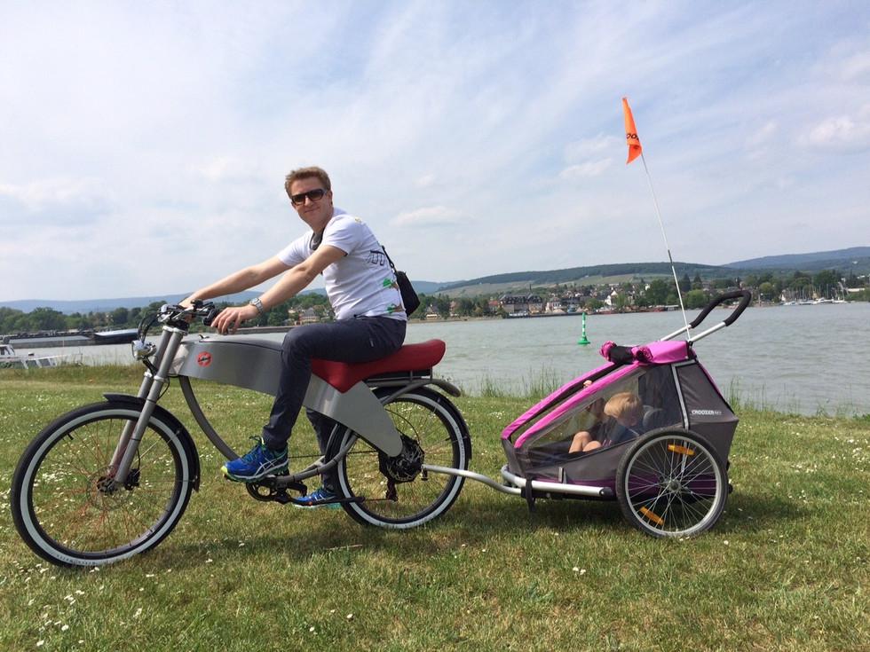 Stroler van Lohner e-bike