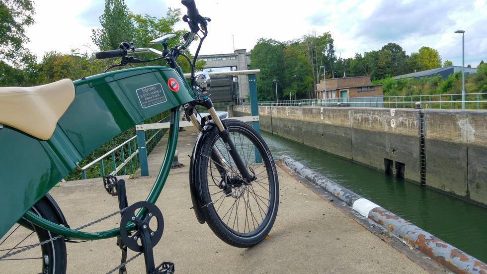 Lohner 2-zits e-bike in Maastricht