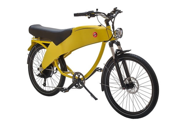 Lohner Stroler e-bike Hallo geel / RAL 1023