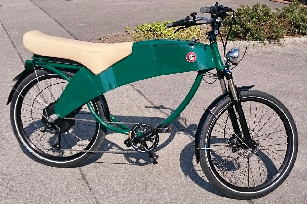 Lohner e-bike Racegroen / RAL 6005
