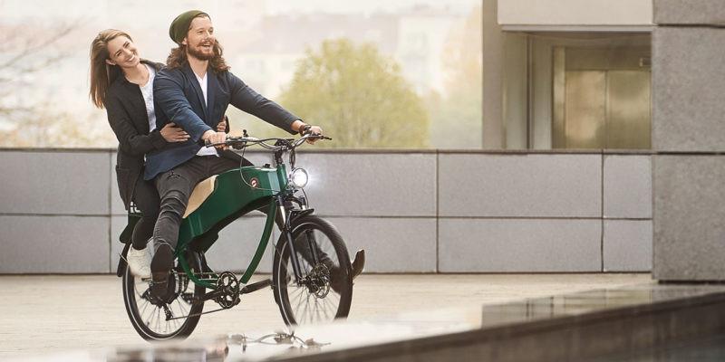 Tweezits e-bike Stroler van Lohner
