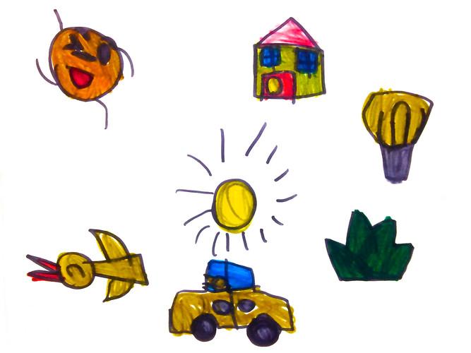 孩子的畫:家庭出遊