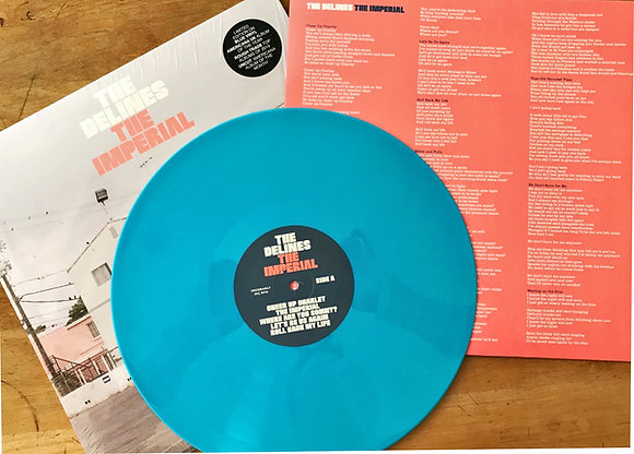 """The Imperial"" Blue Vinyl"