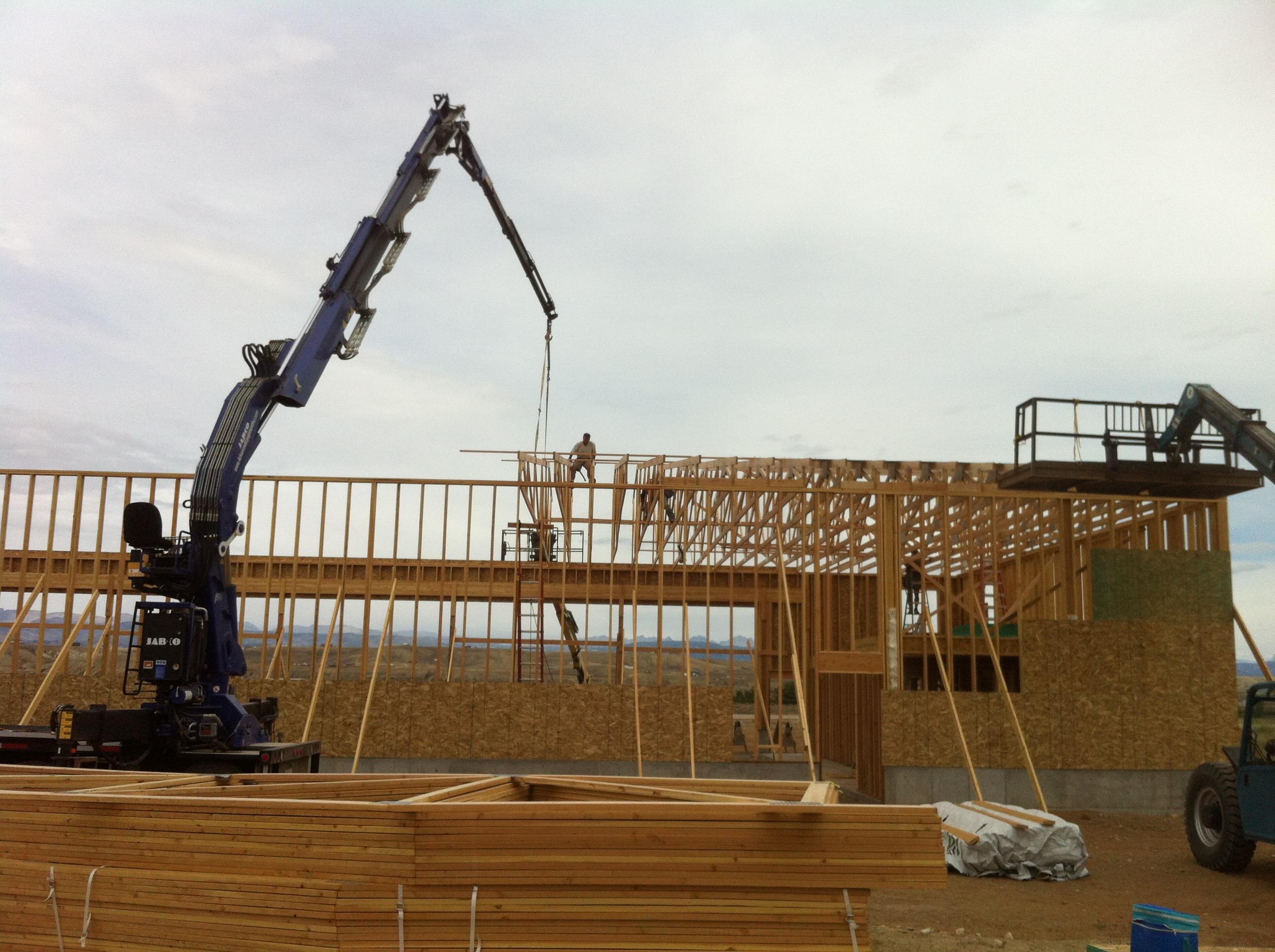 Crane Loading Trusses