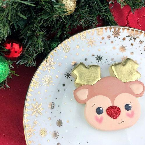Reindeer Cookie - Individual