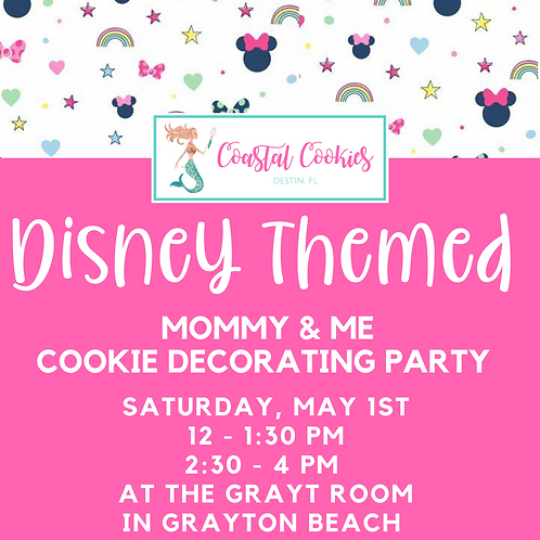 Disney Cookie Party - Mommy & Me
