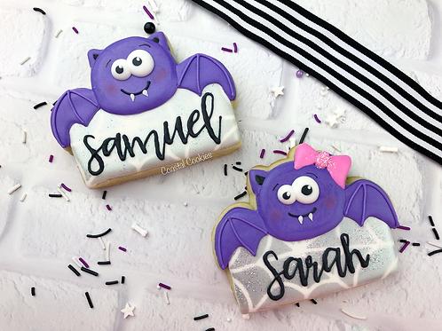 Bat Cookie - Individual