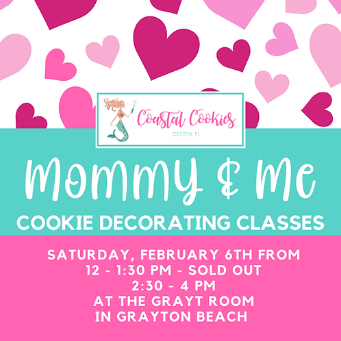 Valentine's Cookie Classes - Mommy & Me