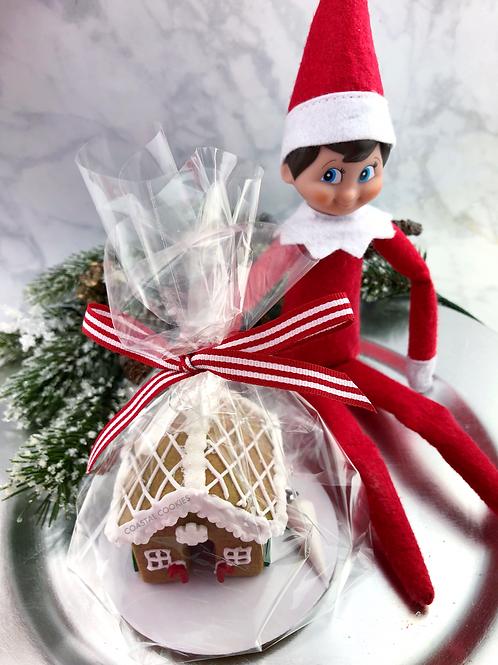 Christmas Elf - Gingerbread House