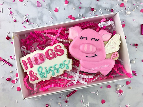 Hogs & Kisses Gift Set