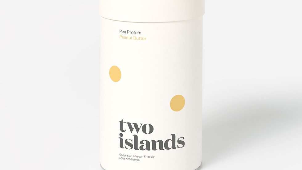 Pea Protein Powder Peanut Butter 500g
