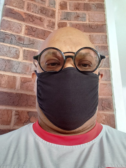 Black Face Mask-5 Face Mask per order