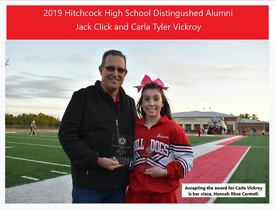 2019 Distinguished Alumni Carla and Jack