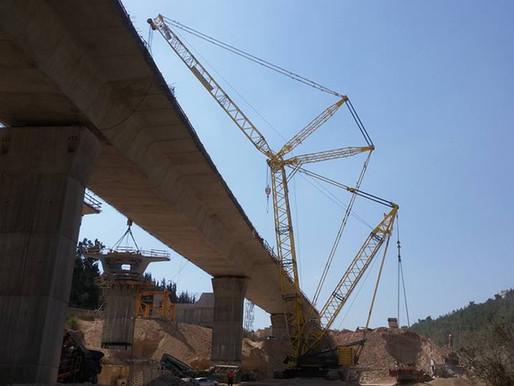 הרכבת גשר מוצא