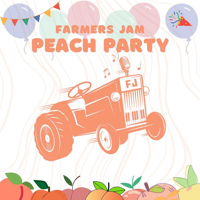 Farmers Jam Peach Party