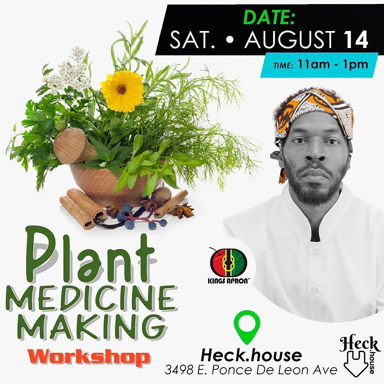 Plant Medicine Making Workshop