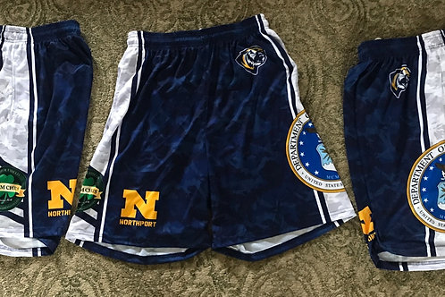 2017 Genuine Lax4Vets Limited Edition Game Shorts