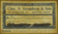 1938 Charles A. Stromberg & Sons Label