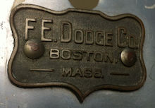 F. E. Dodge Timpani Badge