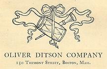 Oliver Ditson Logo
