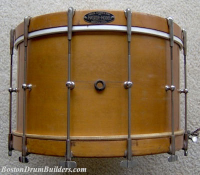 mid 1930s Geo. B. Stone & Son Field Drum