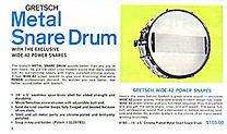 1966 Gretsch Drum Catalog