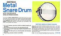 1966 Gretsch Drum Catalog