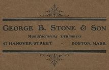 George B. Stone & Son logo