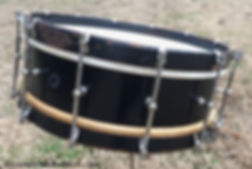 George B. Stone & Son Black Beauty Separate Tension Snare Drum
