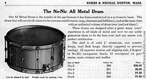 Nokes & Nicolai Drum Catalog